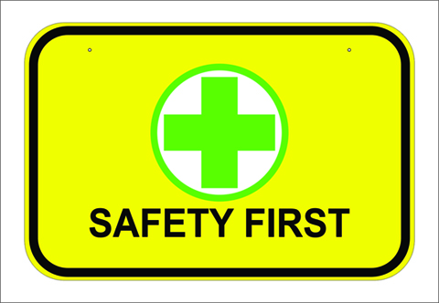 SAFETY SIGNAGE SAMPLE